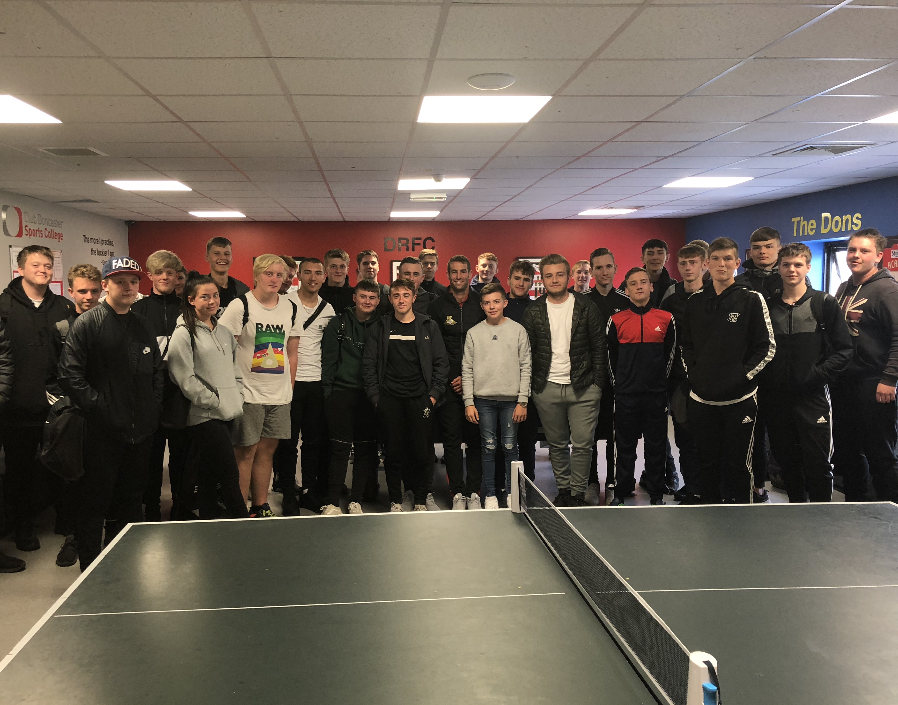 Blair Inspires Club Doncaster Sports College