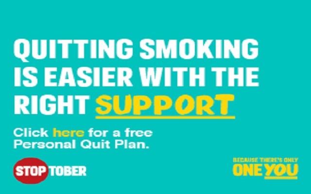 Stop Smoking This October