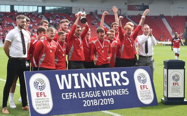 Club Doncaster Sports College Principal Adi Turnpenny praises CEFA