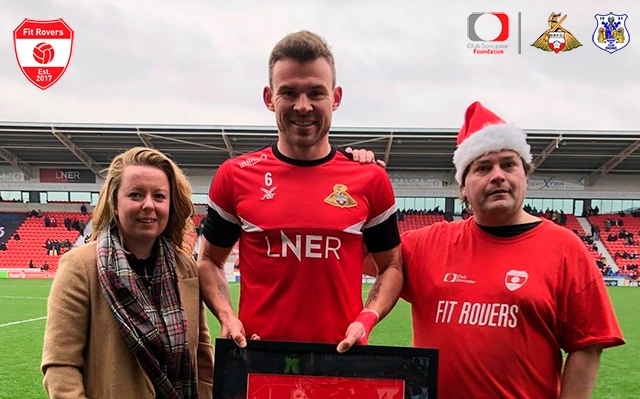 Rovers captain Andy Butler awarded Fit Rovers 200 shirt