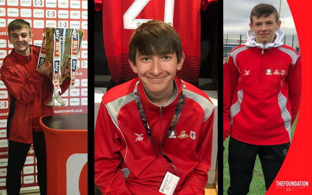 Sports College Students go 'above and beyond' with volunteering support across Club Doncaster operations
