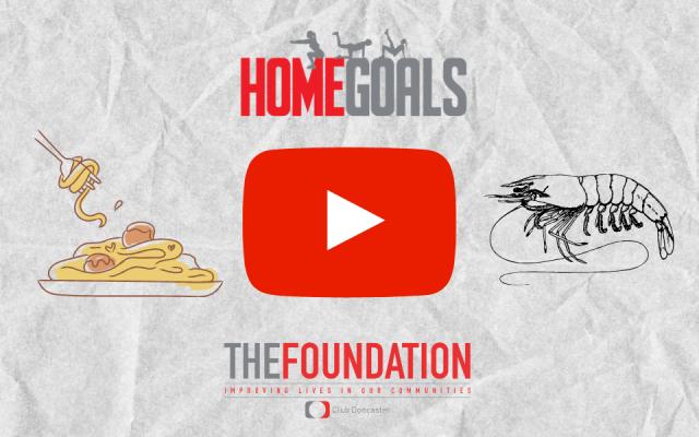 HOME GOALS | Recipe: Prawn Linguine