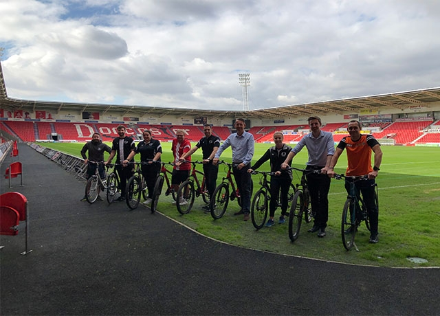 CDF support Cycle to Work Day