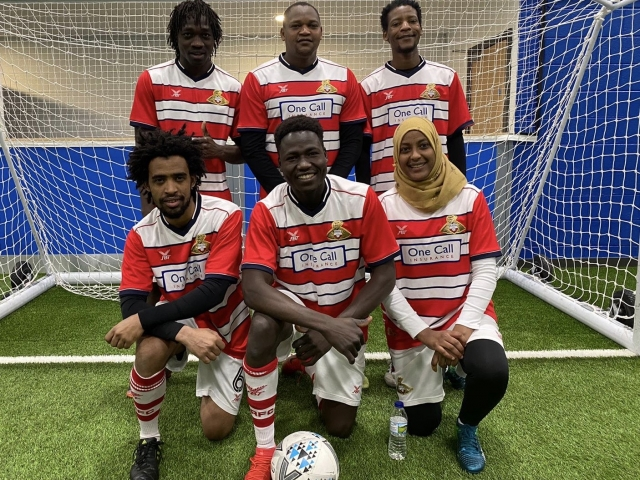 DCC United travel to Burnley for Football Welcomes tournament