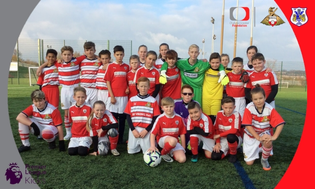 Doncaster and Barnsley joined forces to deliver Kicks event