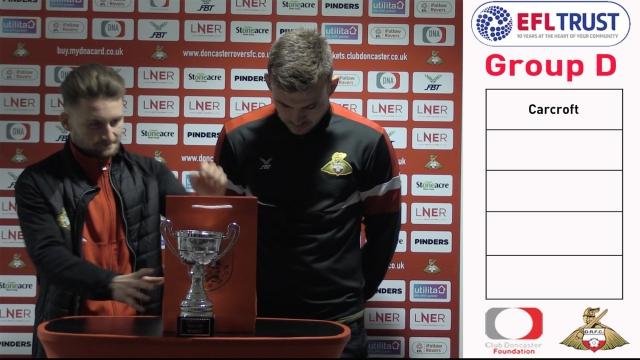 EFL Kids Cup draw!