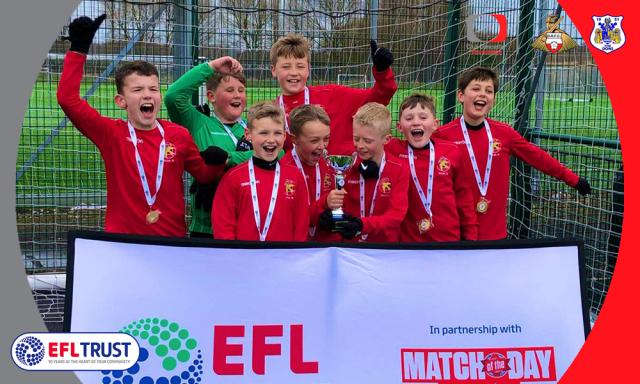EFL Regional Finals - Walsall reach Wembley