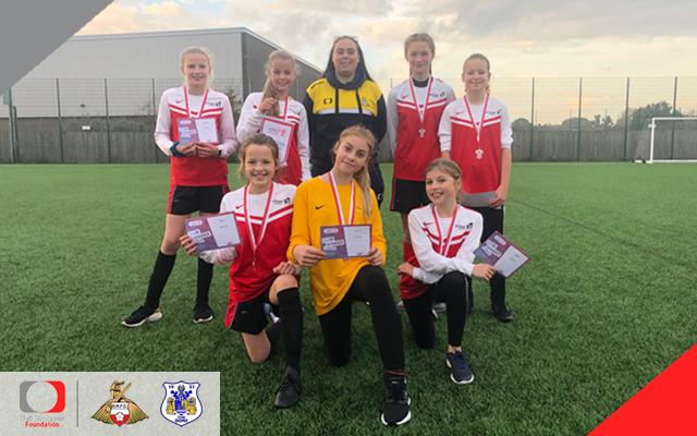 Hallcross claim girls cup glory