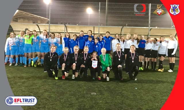 Rossington All Saints Academy win local EFL Girls Cup event