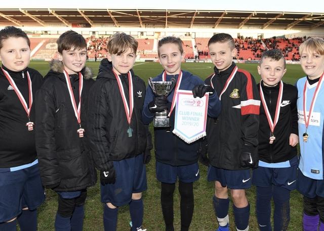 Dunsville Primary win EFL Kids Cup