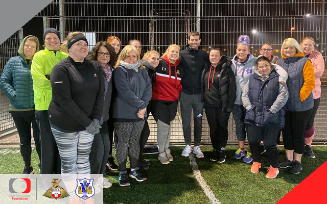 Fit Rovers Ladies weight loss total reaches 95kg