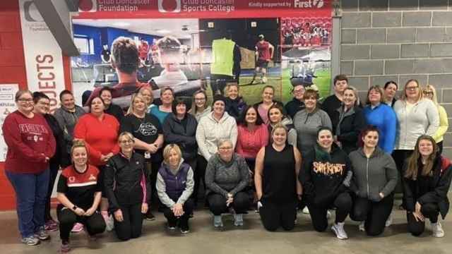 Fit Rovers Ladies fifth course completed online