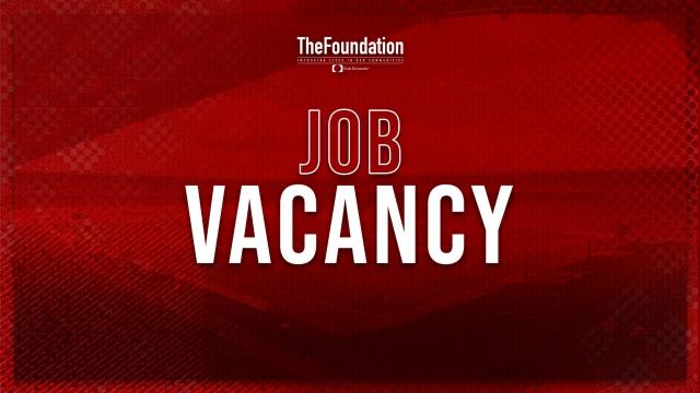 Job Vacancy - Apprentice Coach