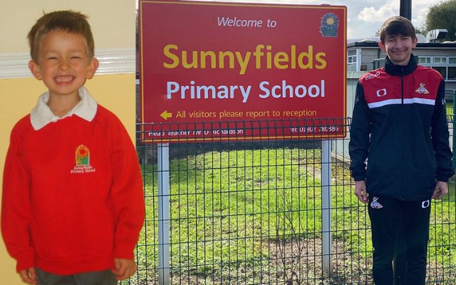 'From a child I used to teach to an adult supporting his community': Apprentice Coach Mason returns to his former school to fulfil ambition of being sports coach