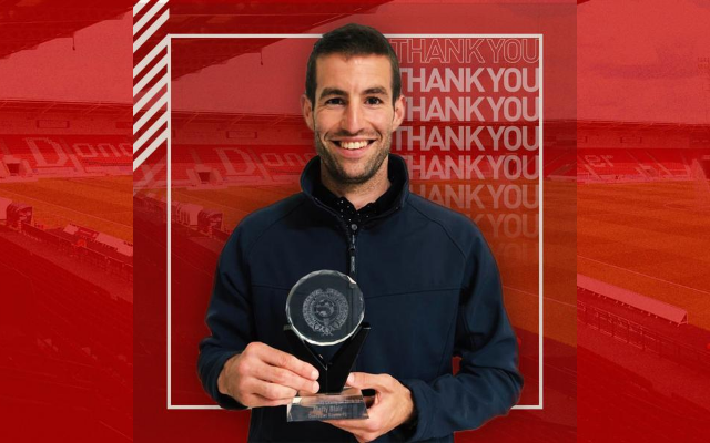 Matty Blair named 2019/20 PFA Community Champion