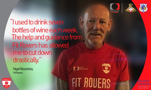 Fit Rovers' Nigel Beardsley: