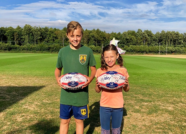Pair surprised at Dons training
