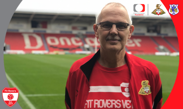 Stephen Evans: I love to volunteer and want to give back to Fit Rovers