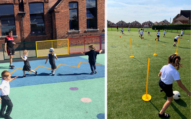 Doncaster schools enjoy socially-distanced sports sessions at start of new academic year