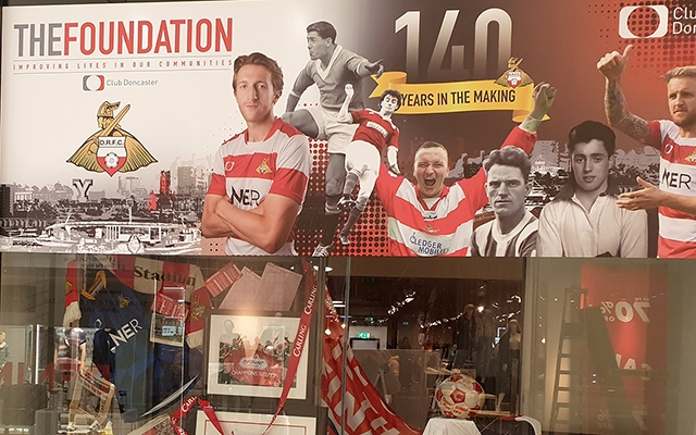 Rovers140 pop-up shop to open in Frenchgate