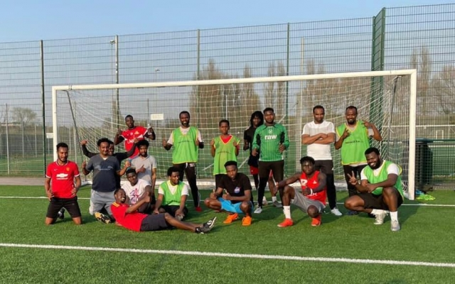 Foundation joins organisations across UK to welcome refugees as part of Amnesty's 'Football Welcomes' month