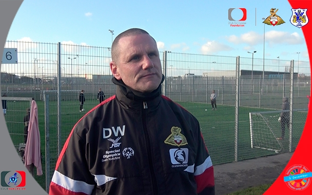 """Club Doncaster Titans' Darren Warner: """"It is important for everyone to feel involved""""."""