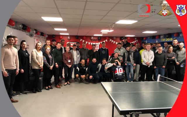 Sports College celebrate ten years in style