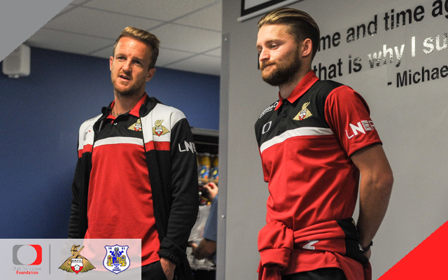 Sports College visited by Rovers stars
