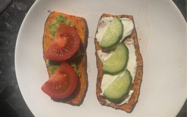 HOME GOALS | RECIPE: SWEET POTATO TOAST