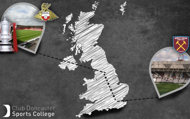 Sports College students battle wintry conditions to complete 163 mile trip to London Stadium by foot in just one week