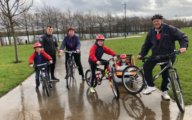 CDF secure bike funding