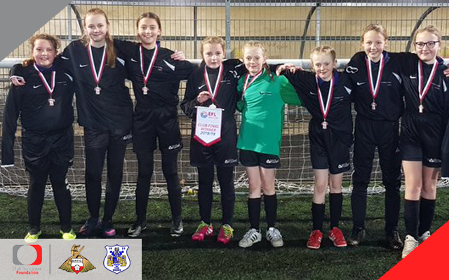 A new team will be looking to reach the EFL Girls Cup area final