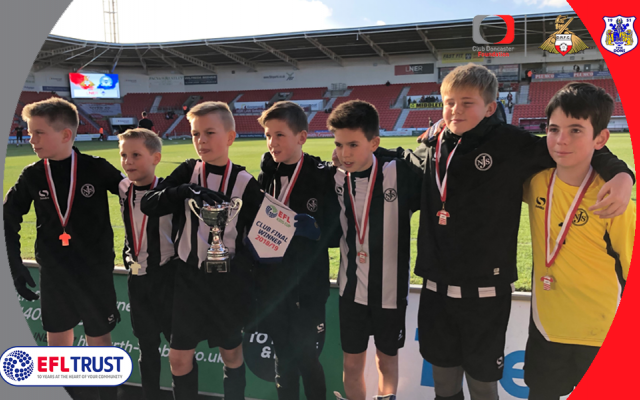 Norton crowned Doncaster Kids Cup champions