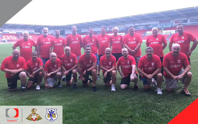 Fit Rovers completes record fourteenth course