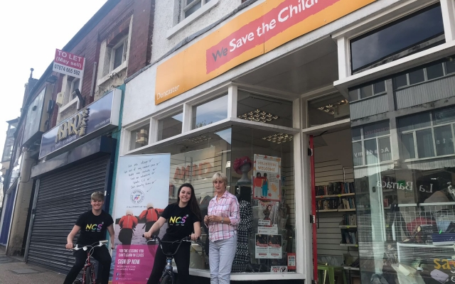 NCS help charities across Doncaster