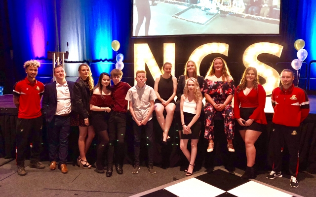 NCS celebrate at graduation