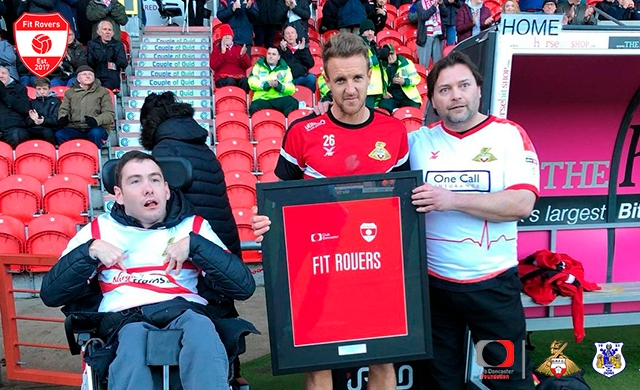 Fit Rovers pay tribute to James Coppinger