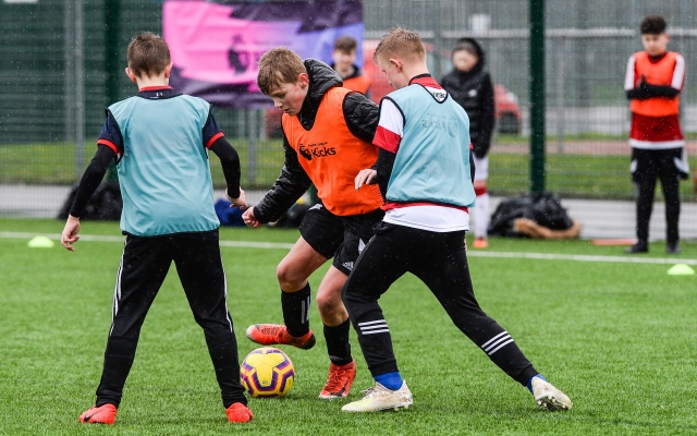 The Foundation's Kicks Programme create stay home soccer camp