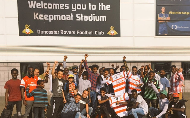 106 participants walk to Keepmoat for Wigan clash