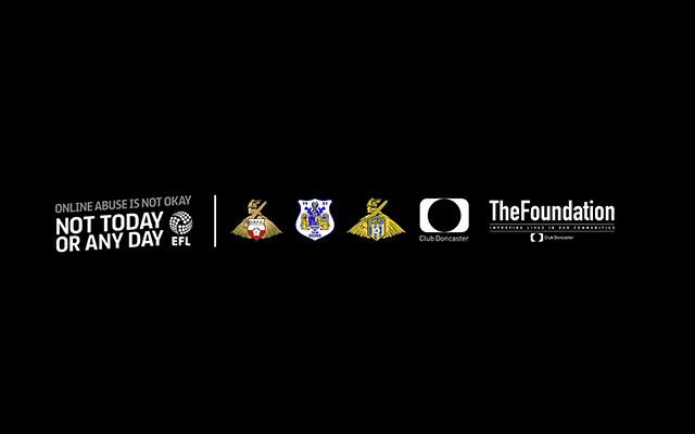 Club Doncaster Foundation to join football and rugby league clubs in switching off our social media accounts #StopOnlineAbuse
