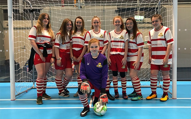 Outwood Academy Adwick thrive in girls football week