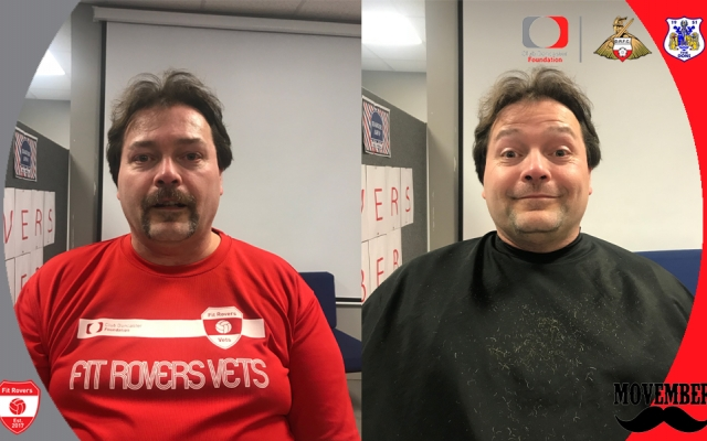 Fit Rovers donate £1000 to Movember 2018