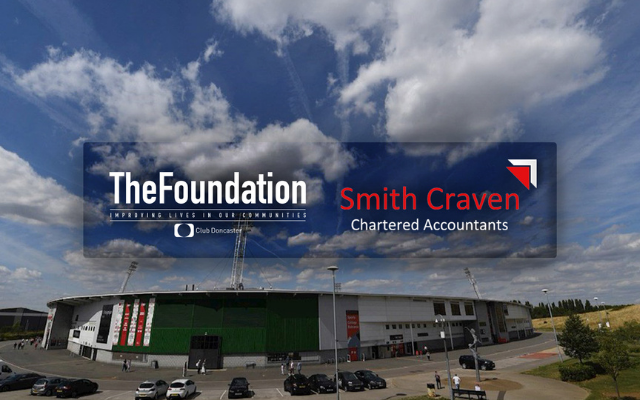 Smith Craven renew their support as patrons of Club Doncaster Foundation