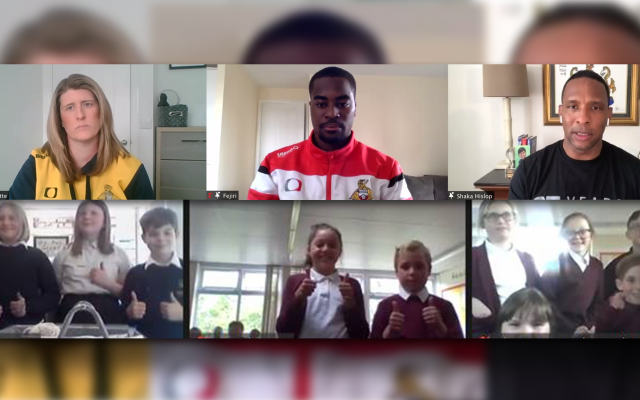 200 Doncaster children join Rovers and Belles players for Show Racism the Red Card workshop on EFL Day of Action