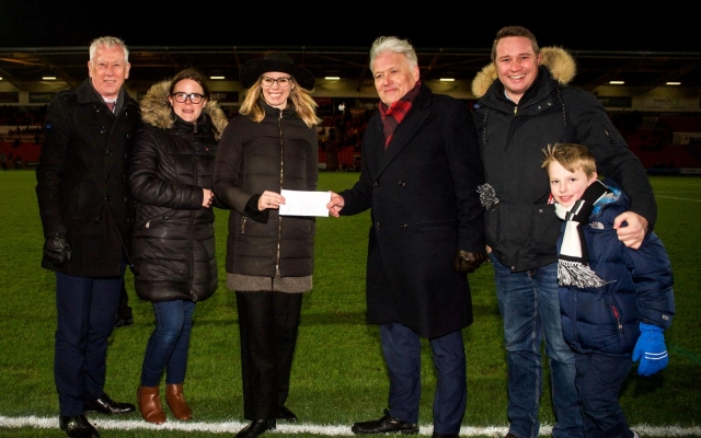 Foundation receive donation of £5774 from the CEO Sleepout