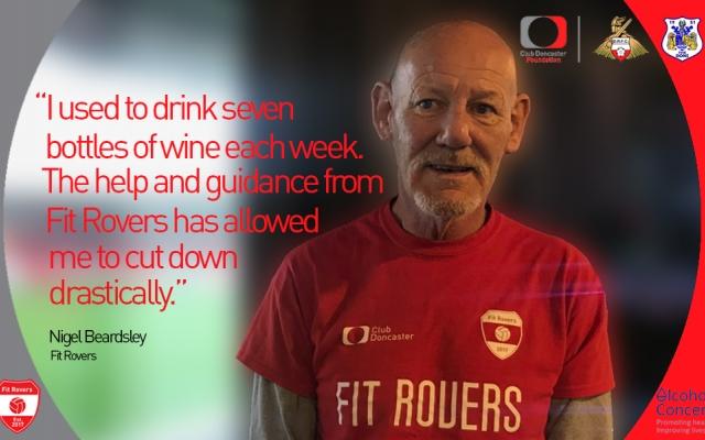 Fit Rovers' Nigel Beardsley: