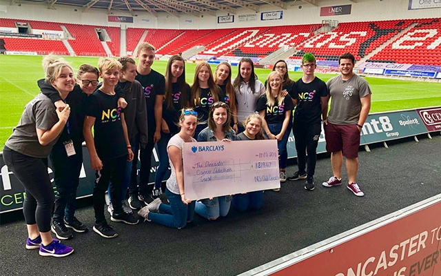 NCS Doncaster raise £1,819 for Doncaster Cancer Detection Trust
