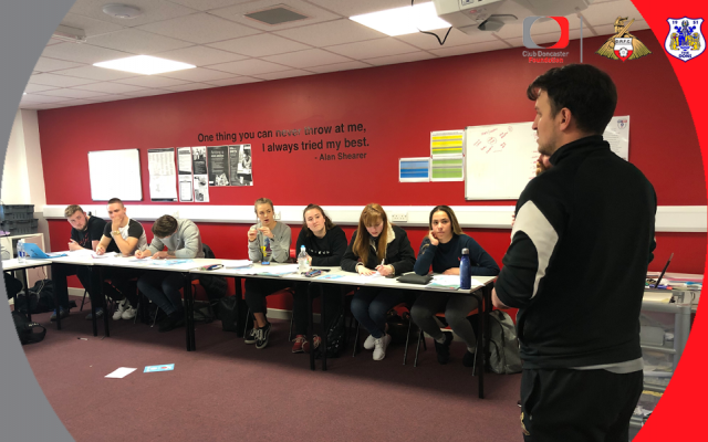Students take on knowledge from Foundation staff