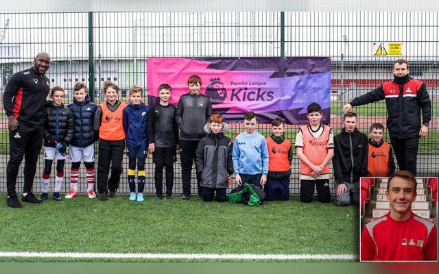 'It's a great example of how our projects can go full circle': Foundation Coach Josh recognised during Premier League Charitable Fund 10 Year Awards