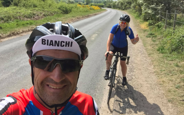 From Doncaster to Barcelona: The Virtual Bike Ride